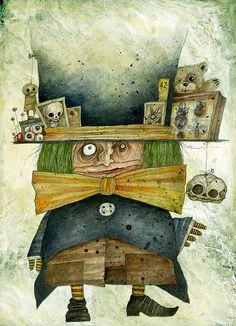 Stefano Bessoni | Alice Sotto Terra