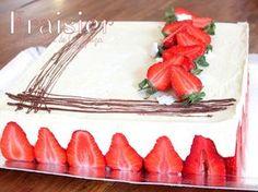 Recette fraisier à la crème mousseline