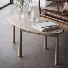Black Friday sale: Hudson Living Wycombe Oak Coffee Table - Modish Living