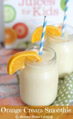 Recipe - Orange Cream Smoothie Similar to a Healthier Orange Julius  Best 100 Juices for Kids