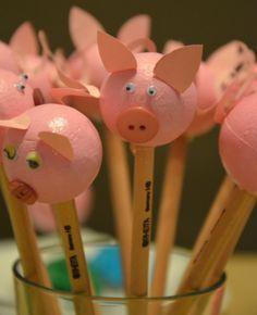 Schweinchen-Bleistifte                                                                                                                                                                                 Mehr