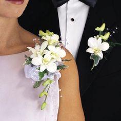Prom corsage googl search, idea, silk flowers, white, wedding flowers, fresh flowers, prom, corsag, boutonnieres