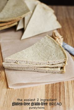 2 ingredient plantain bread