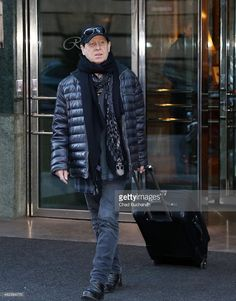 Klaus Meine sighted departing the Regent Hotel on February 8 2015 in Berlin ...