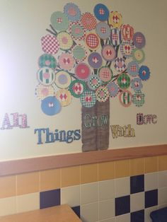 All things grow with love tree