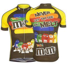 """M&Ms® """"Stripe"""" Cycling Jersey (Men's)"""