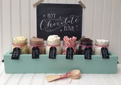 Hot Chocolate Bar Station Deluxe Edition von SimpleSerendipity