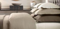 Bed Linens | Restoration Hardware