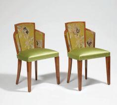 Suite de fauteuils art déco / Pierre CHAREAU & Jean LURCAT