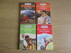 4 x Sandra Field Mills & Boon Romance Novels: TITLES: 1. Happy Ending; 2. Love i