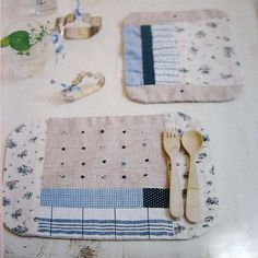 handmade zakka for baby by feltcafe, via Flickr