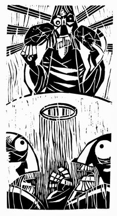 Words on Woodcuts: Diego Jourdan Pereira's Bible Scenes