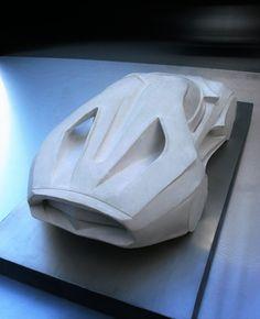 GAB X41 concept model by sculptor Gábor Borbély