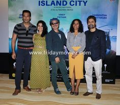 Trailer launch of film Island City starring Samir Kochhar, Amruta Subhash, Vinay Pathak, Tannishtha Chatterjee and Chandan Roy Sanyal.  #trailer #islandcity #samirkochhar #amrutasubhash #vinaypathak #tannishthachatterjee #chandanroysanyal