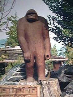 Willow Creek California, self-declared capital of BigFoot country