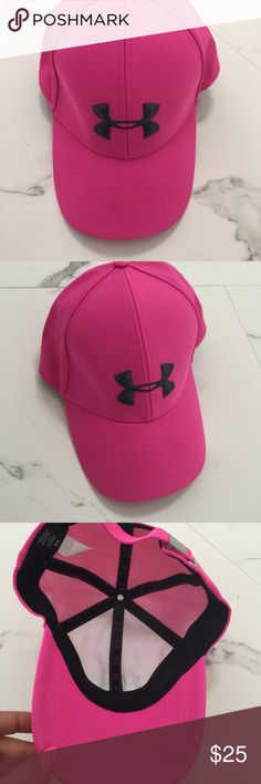 NWT Under armour hot pink baseball cap Hot pink under armour cap for women. Brand new. Under Armour Accessories Hats