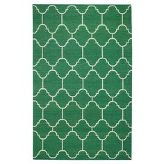 love this emerald green rug  #pantone #emerald #green #2013