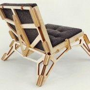 Składany fotel