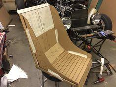 Outdoor Chairs, Outdoor Furniture, Outdoor Decor, Bomber Seats, Rat Rod Build, Metal Forming, Aluminium Sheet, Diy Car, Classic Mini