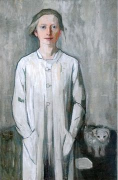 Käte Lassen (1880-1956) - Self Portrait                                                                                                                                                                                 More