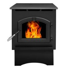 Buy the Pleasant Hearth Black Direct. Shop for the Pleasant Hearth Black Medium BTU Wood Pellet Burning Stove with LED Comfort Control System, 40 Pound Hopper, Square Foot Heat Radius and save. Harman Pellet Stove, United States Stove Company, Small Mobile Homes, Wood Pellet Stoves, Pellet Burner, Best Electric Fireplace, Stove Parts, Wood Pellets, Stove Fireplace