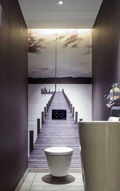 Baño con juego optico