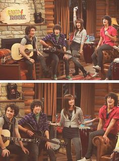 Oh my gosh, I remember watching this on Disney Channel. Camp Rock, Disney Channel Movies, Disney Channel Stars, Childhood Movies, My Childhood Memories, Demi Lovato, School Of Rock, High School, Emperors New Groove