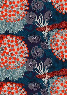 Textile ❤️ Couleurs power par Marimekko ! été 2015
