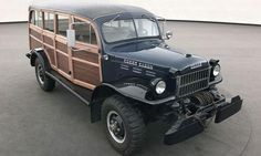 1950 Dodge Power Wagon Campell Woodie covnersion