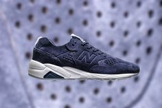 New Balance Deconstructed 580 in Navy Suede and White Leather | HYPEBEAST