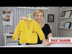 Robadan erkek bebek kazağı - YouTube