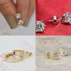 #jewelry #earrings #studearrings #14kwhitegold #diamondearrings #bridalearrings #weddingearrings #fineearrings #2caratsdiamonds #genuinediamonds #6prongsearrings #engagementearrings #solitaireearrings #diamondstuds #bridesmaidearrings #pushbackearrings