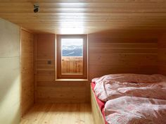 Image 2 of 18 from gallery of Gaudin House / Savioz Fabrizzi Architectes. Photograph by Thomas Jantscher Cabin Interiors, Wood Interiors, Cabin Design, House Design, Stone Barns, Interior Design Magazine, Winter House, Interior Architecture, Contemporary Architecture