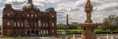 Ein faszinierender Palast mitten im Schottischen Glasgow.