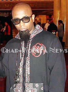Strange Music recording artist Tech N9ne is seen wearing a Chief of Da Street hoody. Tech N9ne is a rap artist whose annual tour stops include locations in Montana. (Courtesy Photo)