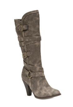 I just got my first pair of boots for the fall season from justfab.com! I love them!