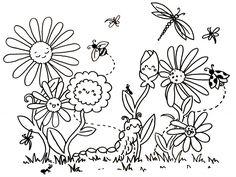 Die 31 Besten Bilder Von Ausmalbilder Frühling Coloring Books