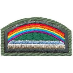 Moving from one Girl Scout grade level to another is called bridging. This award is for bridging from Girl Scout Daisy grade level to a Girl Scout Brownie grade level. $1.25.