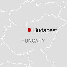 Map of Budapest, Hungary