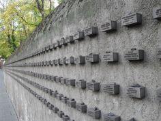 Image detail for -Frankfurt Jewish Holocaust Memorial Wall