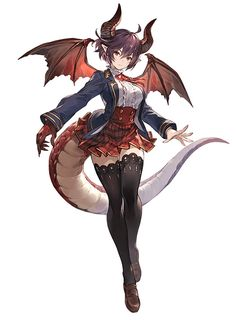 Event Grea from Granblue Fantasy