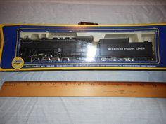 Vintage Unused, GBE AHM 5082 Missouri Pacific 0-8-0 Steam Engine w/ Tender HO  Scale by VintageTrainDepot on Etsy
