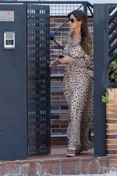 Sara Carbonero wearing Hoss Intropia