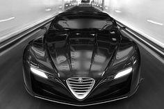 Der Designer Ugur Sahin hat schon mit anderen Entwürfen Aufsehen erregt. Jetzt hat USD mit dem Alfa Romeo 12C GTS seinen Traum von einem künftigen Alfa Romeo-Spitzenmodell illustriert.