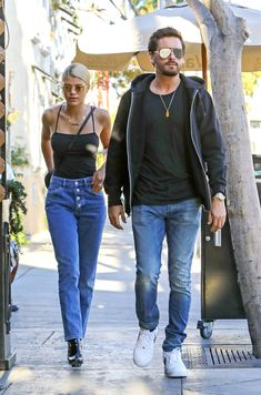 Scott Disick Enjoys a Romantic Lunch Date with Sofia Richie in Beverly Hills