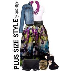 Plus Size Fashion for Women  - Shop Alexa Webb Styled Polyvores  Society+