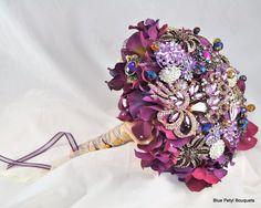 alternative bouquet, bridal bouquet, brooch bouquet, jeweled bouquet, wedding bouquet