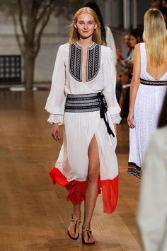 Oscar de la Renta   New York Fashion Week   Spring 2017 • Model: Nastya Sten