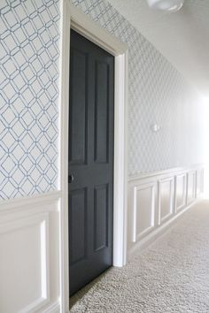 DIY Chair Rail Panel Moulding is part of Diy chair - DIY Chair Rail Panel Moulding Diy Projects Chairs, Home Projects, Chair Rail Molding, Panel Moulding, Stair Moulding, Living Room Chairs, Dining Chairs, Bar Chairs, Office Chairs