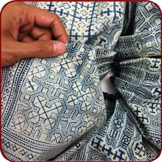 Retro Hmong batik